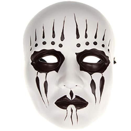 Kostüm Verschwinden Mann - Poiu Cosplay Kostüm Maske Erwachsene Männer Cosplay Halloween Karneval Maskerade Festival Karneval Kostüm Farbblock,White