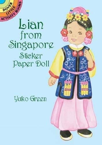 Lian from Singapore Sticker PD (Dover Little Activity Books Paper Dolls) por Yuko Green