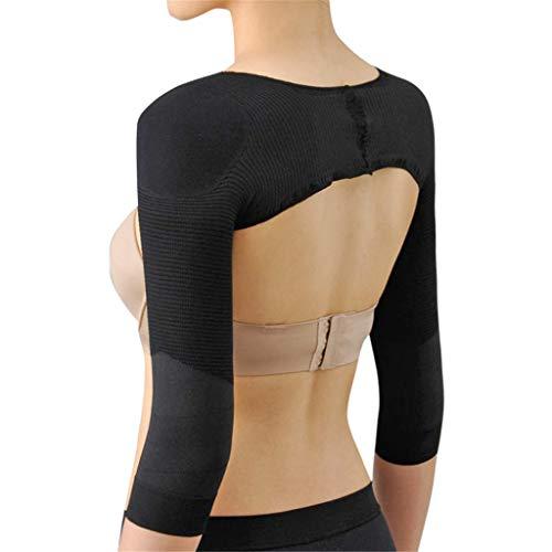 Yvelands Damen Nackenmuster Shaping Unterwäsche Seamless Arm Shaper Sleevey Wonders - V-Ausschnitt aus Strickjacke Nahtlos Perspektive Geformt Unterwäsche