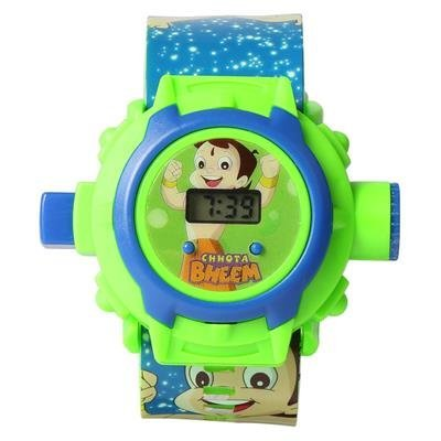 maxxtrend Chota Bheem Projector Digital Watch With 24 Images for Kids BEST( GIFT FOR KIDS)  available at amazon for Rs.230