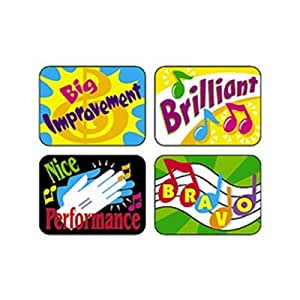 Trend 100 Applause Stickers - Music Rewards
