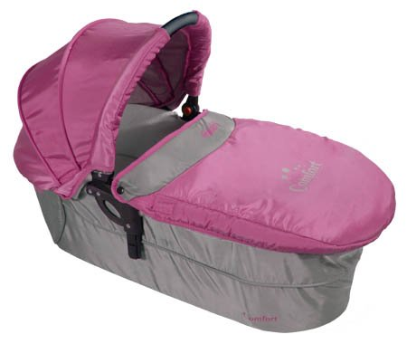 2in1 Travel Set ARTI Comfort B503 2w1 Pink/Gray Babypram and Pushchair/ Baby Stroller   2