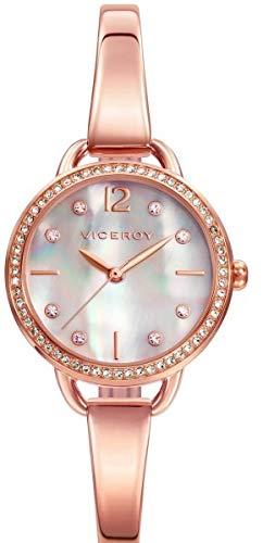Viceroy Femmes Analogique Quartz Montre avec Bracelet en Acier Inoxydable 42326-95