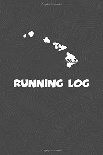 Running Log: Blank Lined Journal for anyone that loves Hawaii, running, marathons! por KwG Creates