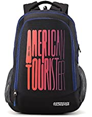 American Tourister 32 Ltrs Black Casual Backpack (AMT Fizz SCH Bag 03)(33cms x 22cms x 51cms)