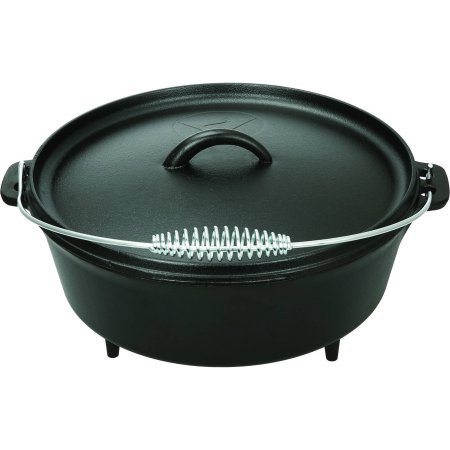 Ozark Trail 5 Quart Dutch Oven mit Deckel, Hänge 5 Quart Dutch Oven