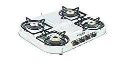 Sunshine Oval Step SS Gas Stove, 4 Burner