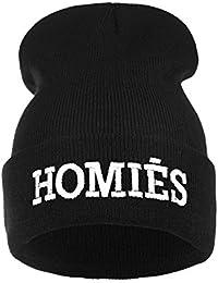 Para hombre Negro de la mujer gorro bordado invierno cálido sombrero Parental Advisory mal pelo día COMME DES FUCKDOWN normal personas scare me cocaína & Caviar