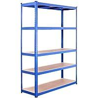 G-Rack 0025 Sistema de estanterías, Azul, 1 Bay