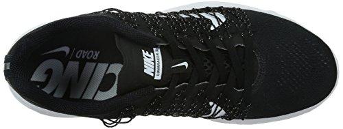 Nike Lunaracer+ 3, Chaussures de Running Entrainement Homme, Multicolore, Media Multicolore (Negro / Blanco / Gris (Black / White-Dark Grey))