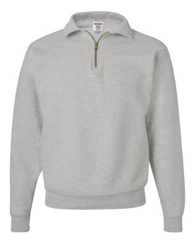 Jerzees 9,5oz Super schwitzt® 50/50Quarter-Zip Pullover Gr. XXXL, Oxford -