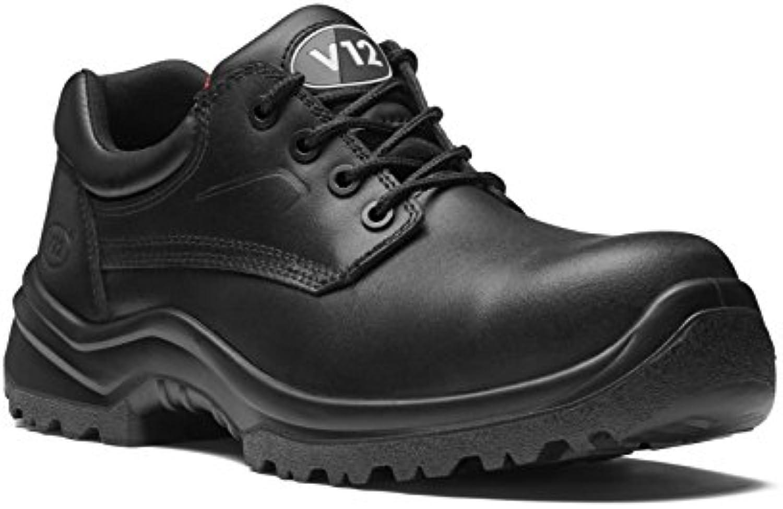 V12 V6411.01/10 bueyes Shoe, STS, tamaño: 10, color negro (Pack de 2)