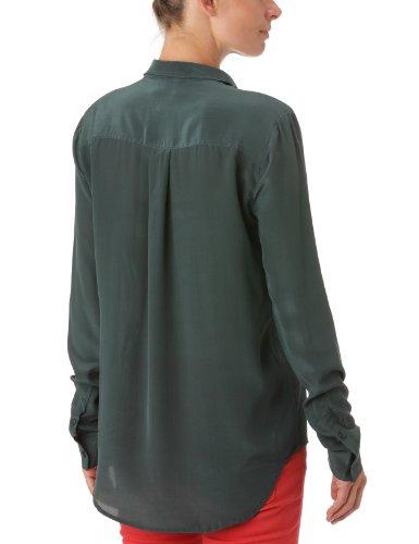 American Retro Damen Shirt , Kent ,Uni Grün