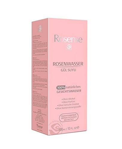 Ansicht vergrößern: Rosense Rosenwasser 100% natürlich vegan, 1er Pack (1 x 300 ml)