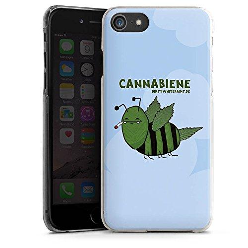 Apple iPhone X Silikon Hülle Case Schutzhülle DirtyWhitePaint Fanartikel Merchandise Cannabiene Hard Case transparent