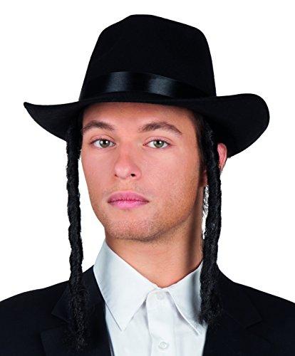 Boland 04194 - Erwachsenenhut Rabbi David, Einheitsgröße, - Rabbi Hut Kostüm