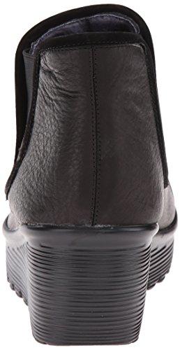 Skechers Paralleluniverse, Bottes mi-hauteur non doublées femme Black Mesh