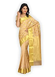 PavechaS Cotton Saree (Mk3114_Beige)