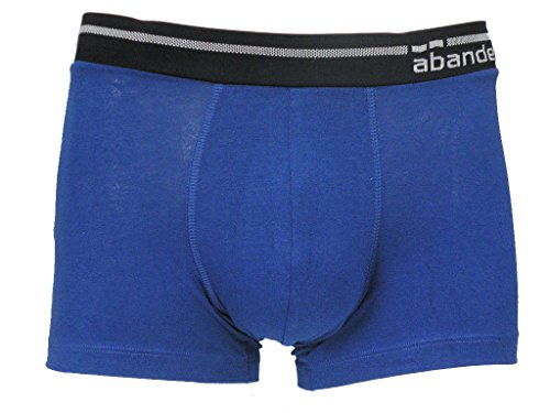 abanderado Herren Hipster Boxer Cintura Extra Suave Blau (Blau)