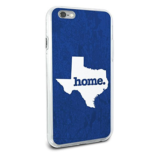 Texas TX Home State Hybrid Case für Apple iPhone 66S Plus (Nur für Plus Modell) - Otterbox-fälle Blau Iphone 6