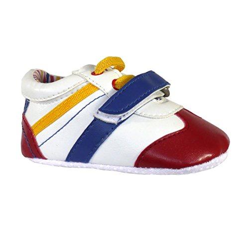 Smart-Klett-Baby-Trainers - Wählen Sie aus roten oder gelben Red/Blue/Yellow