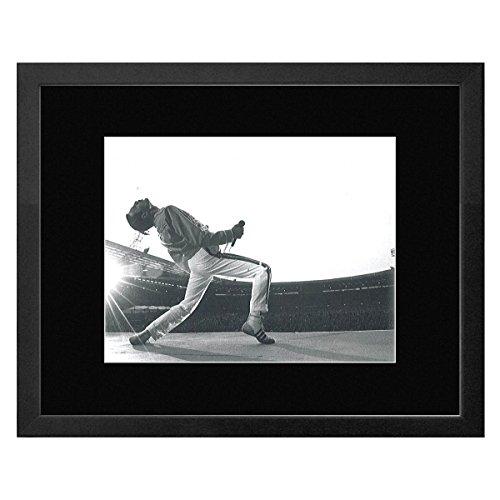 Stick It On Your Wall Queen-Freddie Mercury von Neal Preston 1986gerahmtes Mini Poster-28x 33cm -