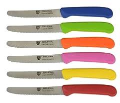 GRÄWE 6 Stück, Messerset zum