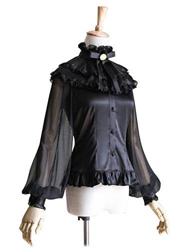 FairyLotus - Camicia -  donna Black