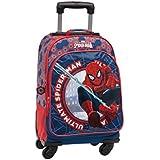 Disney Mochila trolley Spiderman Multicolor