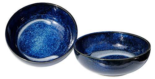 Goto - Cuencos de Horizonte japonés, 15,3 cm, 2 Unidades, Color Azul