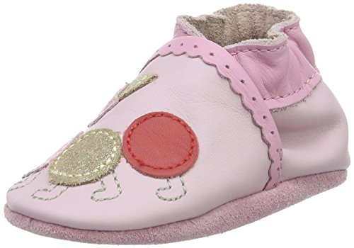 Robeez Unisex Baby Play Time Krabbel-& Hausschuhe Pink (133)