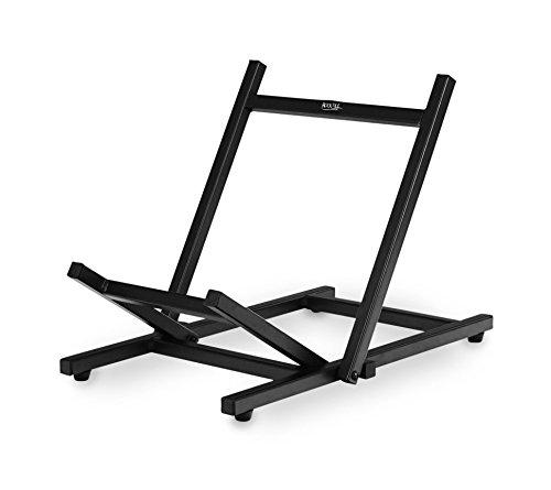 Rocktile CS-30 Amp Floor Stand (Verstärker Schrägsteller Ständer, belastbar bis 30 kg, verbessert den Abstrahlwinkel Ihres Combos, robust, flach zusammenklappbar) schwarz -