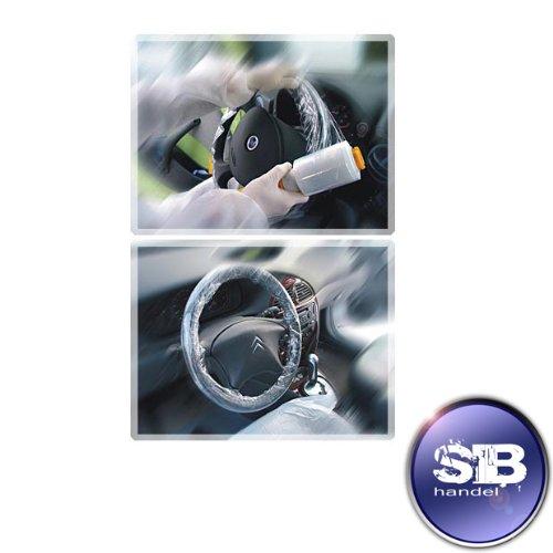 Preisvergleich Produktbild Lenkradschutz PE-Stretchfolie Rolle 100mm x 300lm