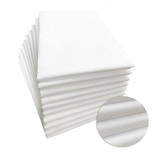 """PHYSIOFIT24 """"Premium PP70"""" Waschfaserlaken 10 St. 80x210cm (bis zu 400 mal waschbar) Waschvlies Auflage für die Behandlungsliege/Massageliege (Weiß) Vlieslaken - 5"""