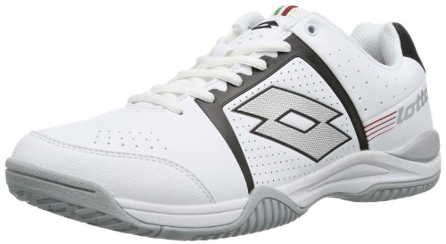 lotto-t-tour-iii-600-baskets-de-tennis-homme-blanc-weiss-wht-blk-44-eu