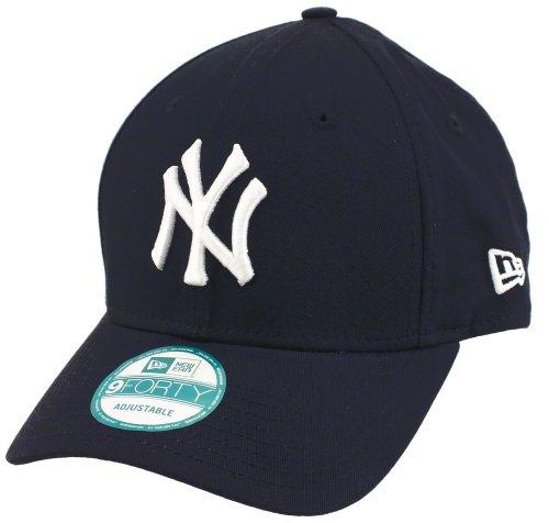 New Era New York Yankees 940 Adjustables Navy/White - One-Size Navy Blue Cap