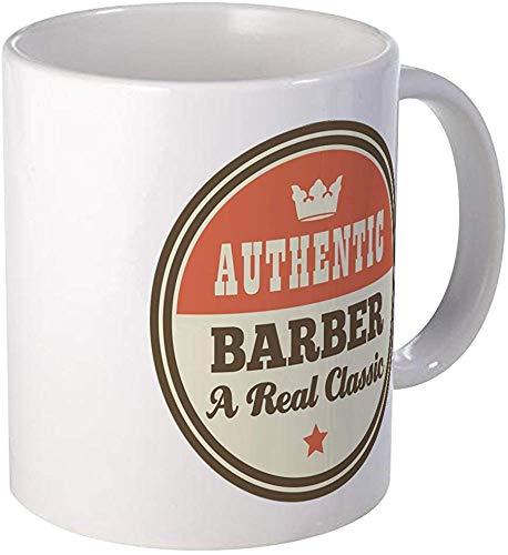 Barbero Taza vintage Taza de café única Taza de café