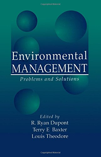 Environmental Management: Problems and Solutions (Inc Scott Pet Products)