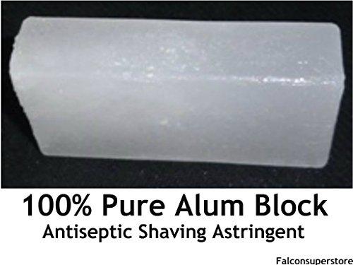 2 X 100g Naturliche Alaun-Block Nach Der Rasur Balsam Bloc Antiseptisch- Adstringierend Nassrasur Alaun