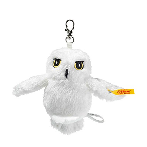 Steiff 355103 Peluche Pendentif Chouette Hedwig