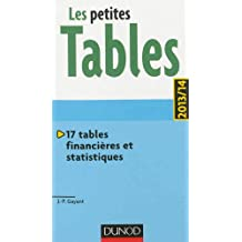 Les petites Tables 2013/14 - 17 tables financières et statistiques
