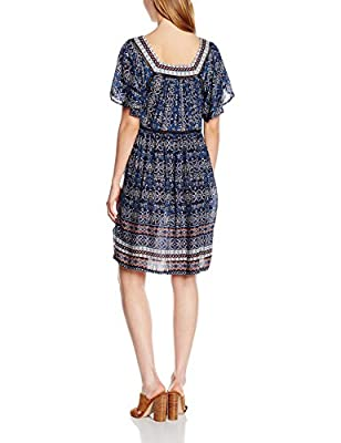 New Look Women's Floral Trim Smock Dress