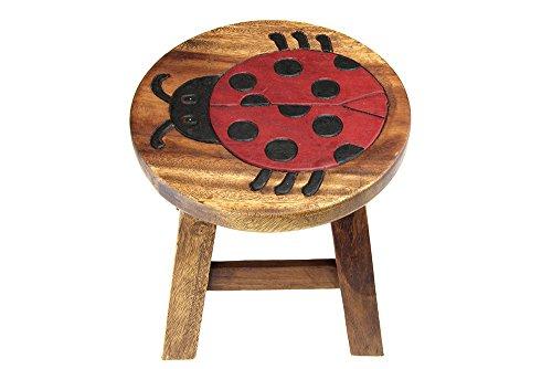 Apollo gardening ltd sgabello in legno per bambini motivo