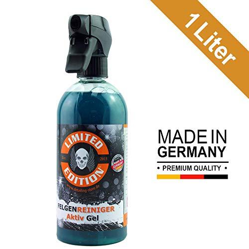 Limited Edition® - 1 Liter Felgenreiniger - AKTIV Gel - Säurefrei - Effektive Reinigung von starken Verschmutzungen auf Leichtmetallfelgen & Stahlfelgen