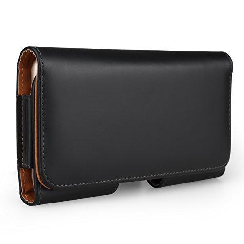 Executive PU Leder Horizontal Taille Belt Clip Wallet Fall für Samsung Galaxy S8+/S8J3/J5J7A52017/J7Pro/J7V/C5Pro/Xcover 4/BlackBerry Keyone/Aurora Executive Leder-cell