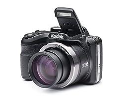 Kodak PixPro AZ361 16MP Point and Shoot Camera (Black) with 36x Optical Zoom