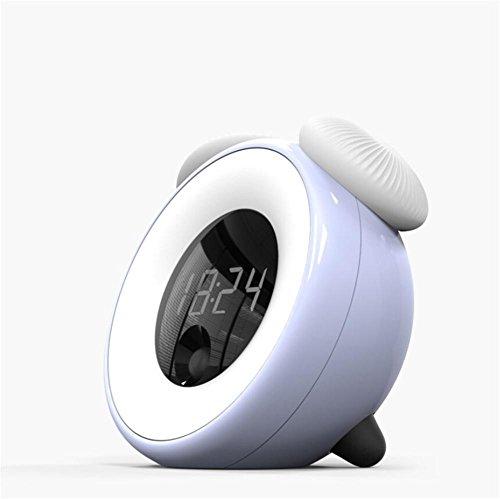 Wecker LED-Lichtsteuerung Nachtlicht Smart Sensor Alarm Schlummeralarm Nachtlicht Zeit Licht Sensor Pilz Licht , 1