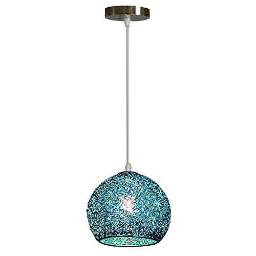 Iluminación de techo de Macarón nórdico, lámpara de aluminio ...