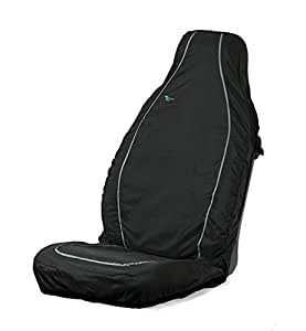 Town and Country Air Bag Compatible Seat Cover - Black