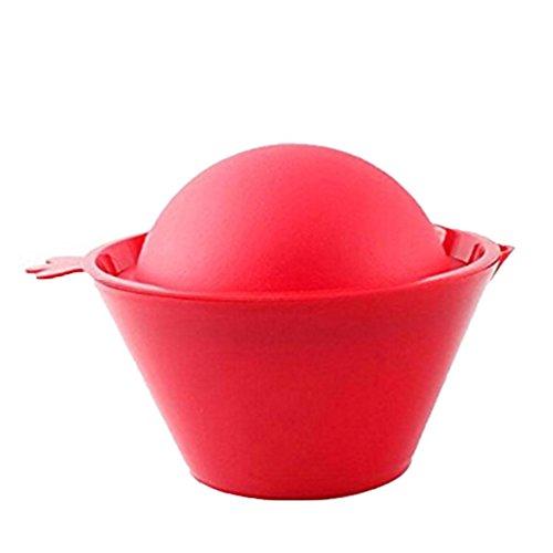 Albeey Silikon Granatapfel Entkerner, Rot